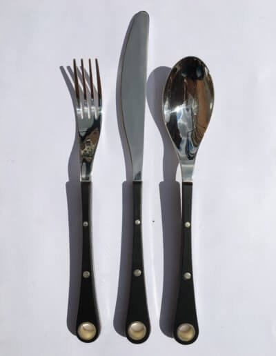 Eye cutlery set. Private client. 2006