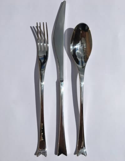 Kite cutlery set. Private client. 2006
