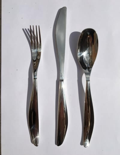 Wasdale cutlery set. Private client. 2006